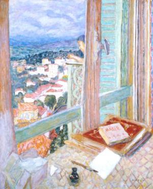 The Window 1925 by Pierre Bonnard 1867-1947