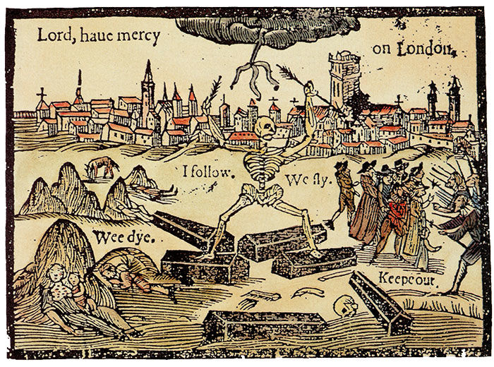 Black Death, Bubonic Plague, 1625